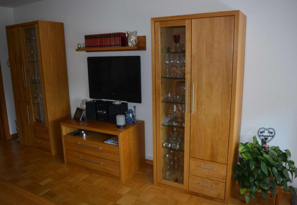Wohnzimmermöbel in Eiche