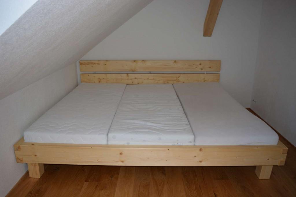 Bett in nordisch Fichte geölt